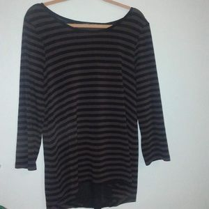 Cable and Gauge Size XL Top Long Sleeve Nautical B